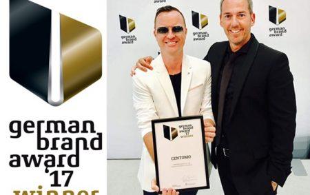 CENTOMO freut sich über German Brand Award 2017